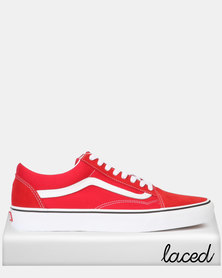 Vans Classic UA Old School Racing Red/True White Sneaker
