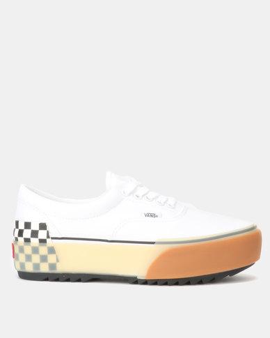 Vans UA Era Stacked White/Checkerboard