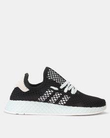 adidas Originals Deerupt Runner W CBLACK/FTWWHT/BLUTIN