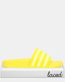 adidas Originals Adilette W YELLOW/SEFRYE/YELLOW