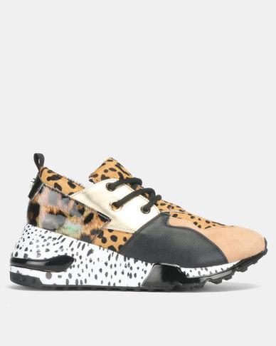 6c6aa079f05 Steve Madden Cliff Animal Sneakers