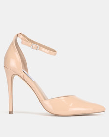 Steve Madden Mikaela Blush Patent Dress Heels