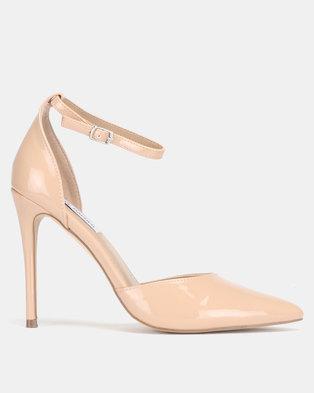 210e069fa36d Steve Madden Mikaela Blush Patent Dress Heels