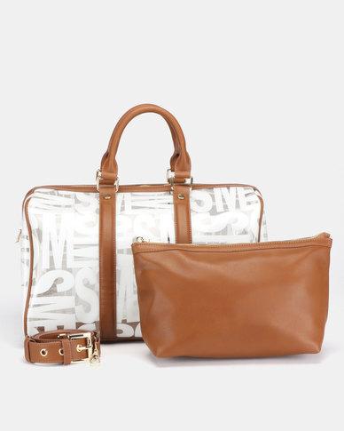 Steve Madden Bsuze Barrel Bag Cognac