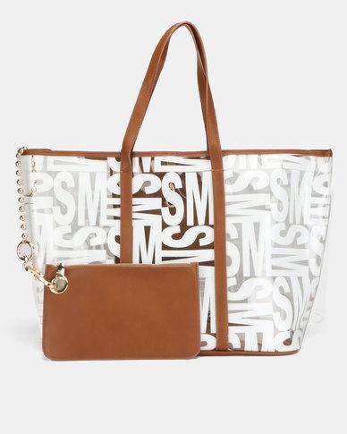 Steve Madden Bkacie Tote Bag Cognac