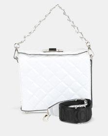 Steve Madden Bchrissy Box Bag White