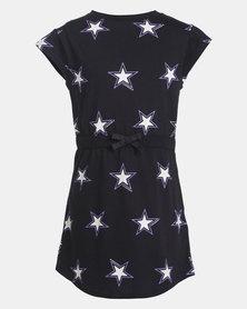 Converse AOP Wordmark Black Dress