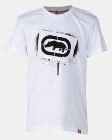 ECKÓ Unltd Boys Basic Tee White