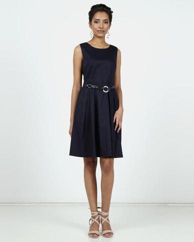 Assuili Chloe Printed Dress Marine