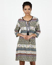 Assuili William de Faye® Tunisian Special Design Dress Marine