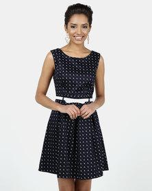 Assuili William de Faye® Printed Dress Marine