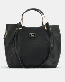 Miss Black Paris Hobo Black Bag