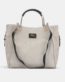 Miss Black Paris Hobo Grey Bag