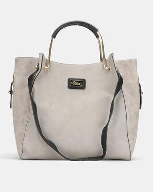 Miss Black Paris Hobo Grey Bag