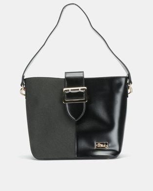 Miss Black Brooklyn Hobo Black Bag