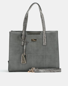 Miss Black Sydney Structured Charcoal Bag