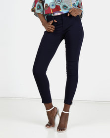 Sissy Boy Lerissa Dawson Pants With Side Slit Navy