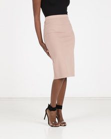 ONDINE Pencil Skirt Nude