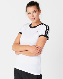 Reebok Performance Linear Logo Tee White