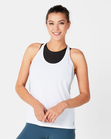 Reebok Performance OS Smartvent Tank White