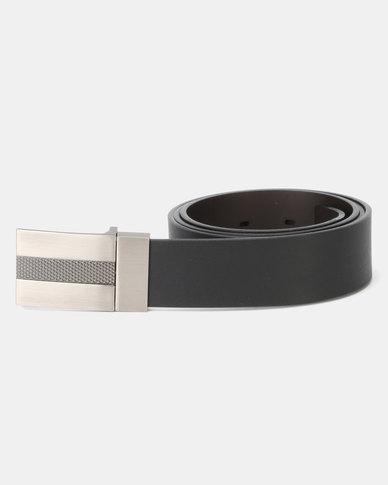 JCrew Reversible Formal Belt Black & Choc
