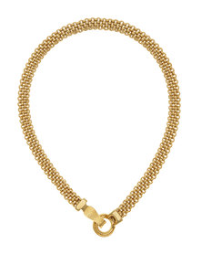 Tifawt Jewellery Mesh Gold Chain