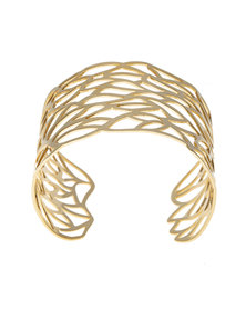 Tifawt Jewellery Filigree Gold Bangle