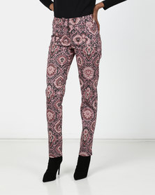 Maya Prass  Sumac Narrow-Leg Trousers Rose
