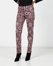 Maya Prass  Sumac Narrow-Leg Trousers Rose
