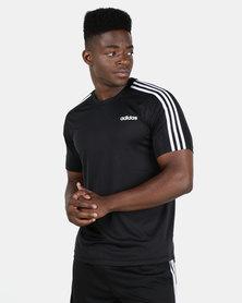 adidas Performance D2M Tee 3S Black