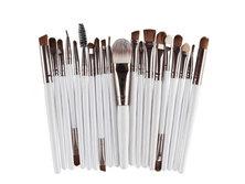 Happy You 20pc Professional Mini Makeup Brush Set - White