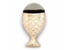 Happy You Foundation Fish Tail Brush - Gold