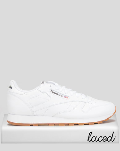 Reebok Classic Leather Solid White