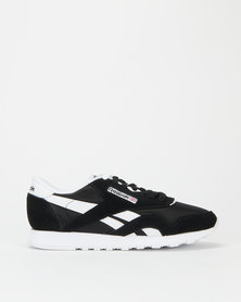 Reebok Classic Nylon Sneakers Black