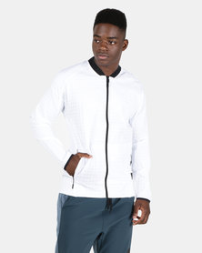 Reebok Performance TS Bomber Jacket White