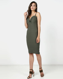 Sissy Boy Remember Me Midi Army Green