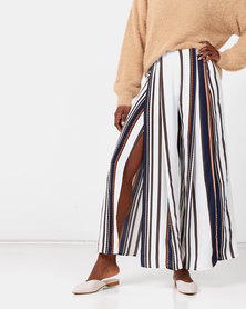 Royal T Loose Striped Trousers Multi