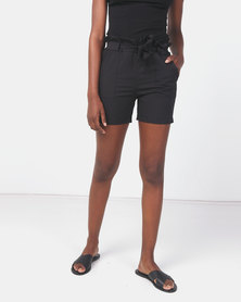 Royal T Bowtie Shorts Black
