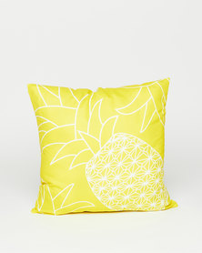 Utopia Pineapple Scatter Cushion Yellow