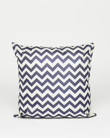 Utopia Geometric Scatter Cushion Blue