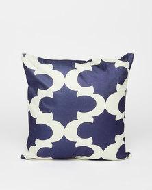 Utopia Empire Scatter Cushion Off White/Blue