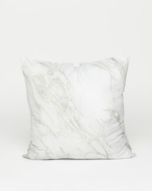 Utopia Marble Scatter Cushion Grey/White