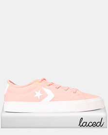 Converse Star Replay Bleached Coral Sneaker