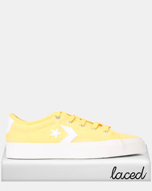 Converse Star Replay Butter Yellow Sneaker