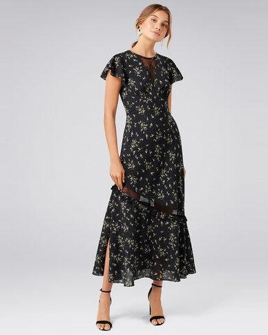 Forever New Lara Lace Insert Maxi Dress Spring