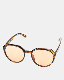 You & I Statement Brown Sunglasses