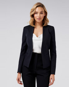 Forever New Ashley Blazer Navy