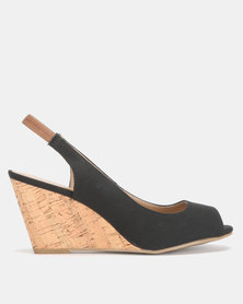 Call It Spring ARISTATA Black Mid Wedge