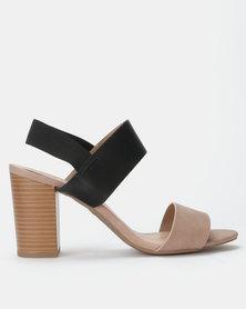 Call it Spring RIGIDAE Multi Colour Heeled Sandal
