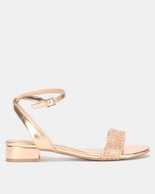 Call it Spring SADRA Low ankle Strap Heel